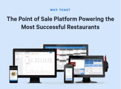 Toastはレストラン運営のオールインワンシステムを提供する