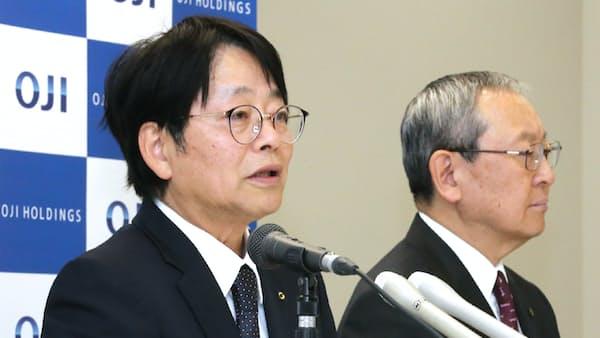 王子HD社長に加来氏 「部門の垣根超え選択と集中」