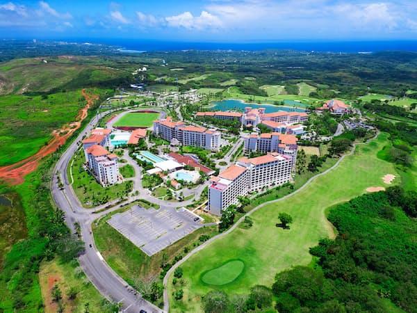 レオパレスが米領グアムで所有・運営するリゾート施設