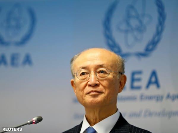 IAEAの天野事務局長=ロイター