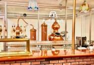ウイスキーの蒸留体験ができる(滋賀県長浜市の長濱蒸留所)