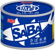 水産3社はいずれもサバ缶を値上げする(写真は日水のサバ缶)