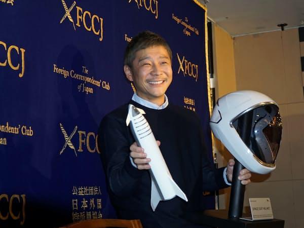 ZOZOの前沢社長は宇宙旅行や現代絵画の購入などで世間の耳目を集めてきた