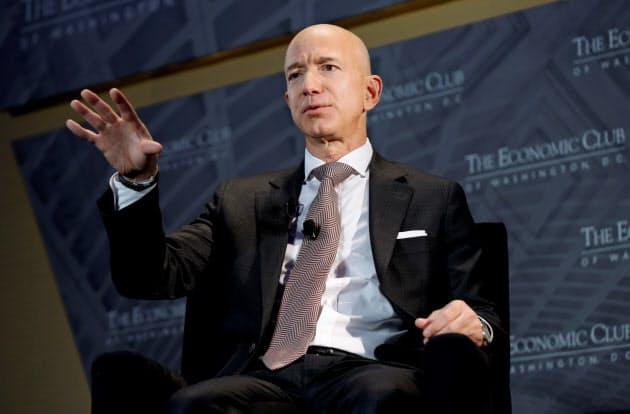 米アマゾン最高経営責任者(CEO)のシェフ・ベゾス氏=ロイター