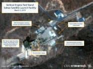人工衛星写真からはミサイル拠点再建の動きがうかがえる(写真はCSISのホームページより)