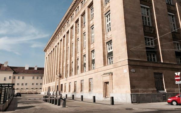 極右シンパの経済学者が次期総裁に内定したオーストリア中央銀行(ウィーン本部)