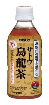 佐藤製薬の発売した特定保健用食品「サトウ烏龍茶」
