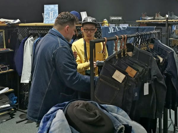 ジャパンブルー(岡山県倉敷市)はベルリンなど欧州各地で展示会を開いている