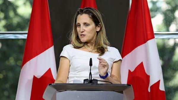 カナダ外相「科学的根拠ない」 中国の菜種輸入停止受け