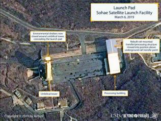 ミサイル拠点の復旧が進み、運用可能な状態になったとみられる(写真はCSISのホームページより)