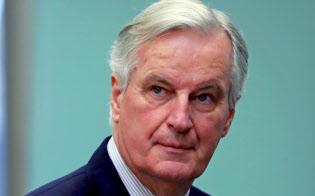 EUのバルニエ首席交渉官=ロイター
