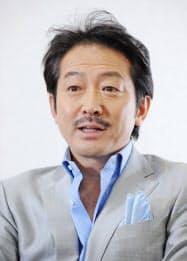 俳優の辰巳琢郎さん