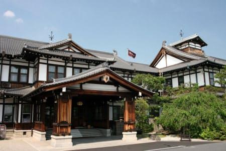 JR西日本が完全子会社化した奈良ホテル(奈良市)
