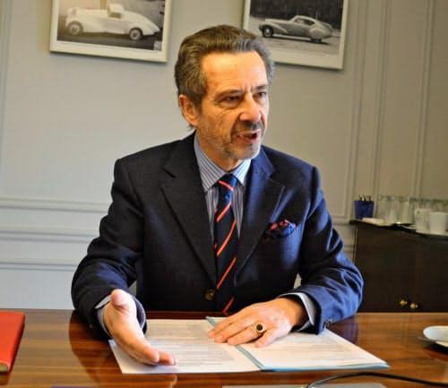 フランス中小企業連盟(CPME)のアルバン・マジアール副国際委員長