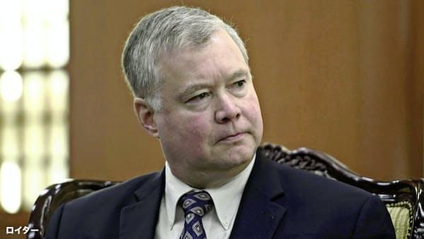 「段階的な非核化目指さず」、米ビーガン特別代表が見解