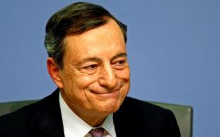 ECBのドラギ総裁はマイナス金利政策を擁護?#24037;毪?ロイター
