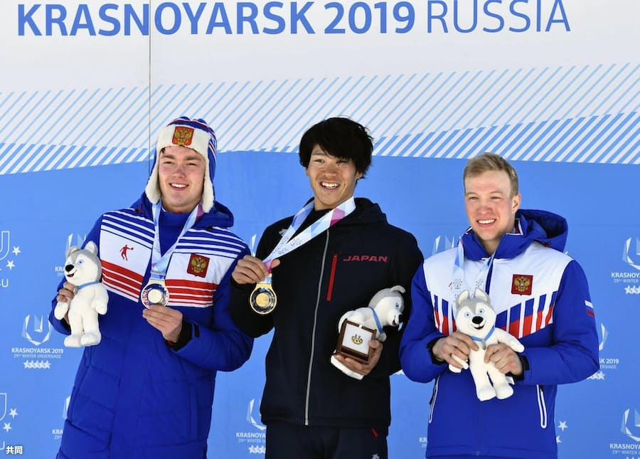 スキー距離で馬場が金 冬季ユニバ閉幕、日本はメダル13個: 日本経済新聞