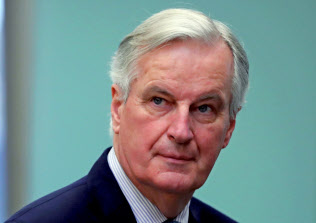EUのバルニエ首席交渉官=ロイター通信