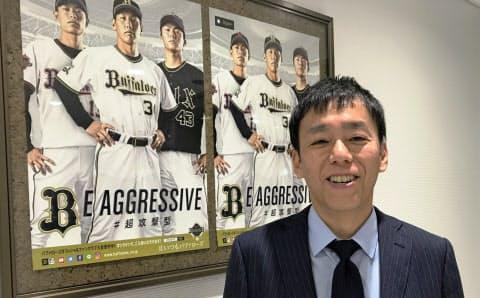 山本さんは事業推進部副部長、ファンクラブグループ長も兼務している
