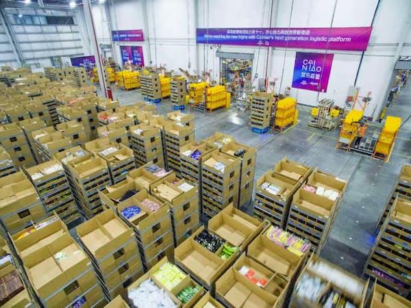 アリババは今後、物流事業を強化する(中国無錫市)