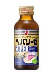 ゼリア新薬のドリンク剤「ヘパリーゼ スーパーリッチ」