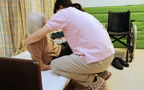 介護現場では人手不足感が強まっている