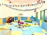 託児室併設の仕事場を通じ両立を支援(埼玉県八潮市)