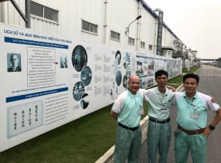 ベトナム・ハノイ郊外の新工場はベトナム人幹部が主導して立ち上げた