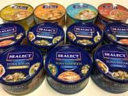 タイ・ユニオン・グループが生産するツナ缶。同社は中国市場の開拓を急ぐ。