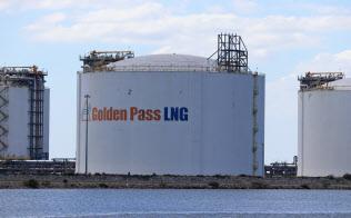 カタールは米国でLNG生産に乗り出す(ゴールデンパスLNG基地、テキサス州)