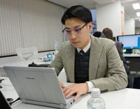 カラーギャングだった後藤氏は現在、サイバーブル(東京・渋谷)でマーケティングに携わる