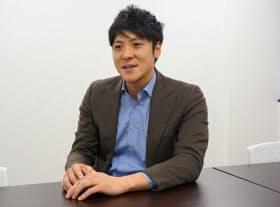 サイバーブルの中田大樹社長。「大卒だけを採用基準にしていると、優秀な人材を見つけるチャンスを失うことになる」と話す