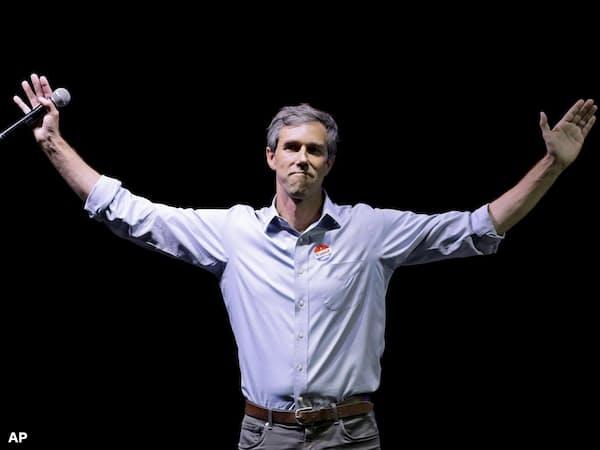 民主党で若手の有望株とされるベト・オルーク前下院議員(写真はAP)