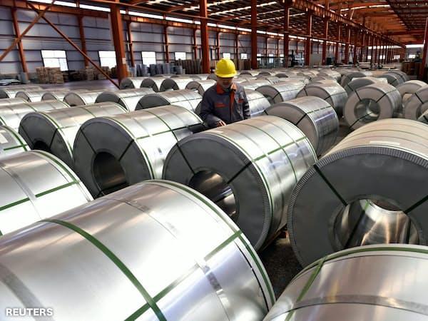 工業製品に多く使うアルミの需要は世界の貿易量に左右されやすい=ロイター