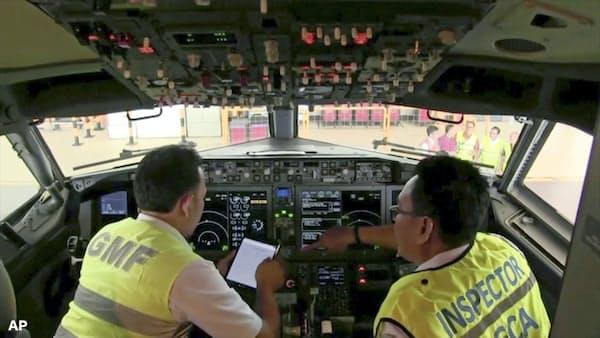 ハイテク機体に不備か ボーイング機、米も運航停止