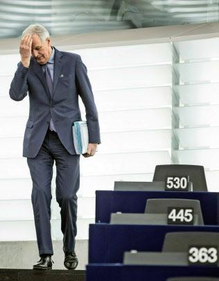 EUのバルニエ首席交渉官=AP通信
