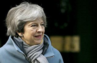 メイ首相は来週にもう一度、英?EUの離脱案を採決にかける意向だ=AP