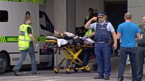 複数の負傷者が病院に搬送された=ロイター