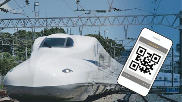 QRコードで新幹線乗車 JR東海、訪日客に対応