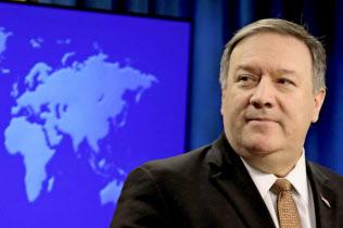 ポンペオ米国務長官は1月にも中東諸国を歴訪していた(15日、ワシントン)=ロイター