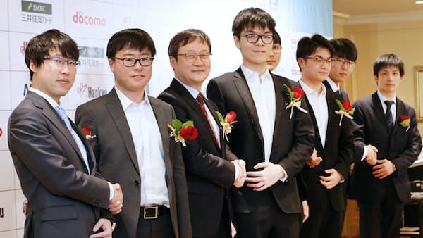 ワールド碁、18日開幕 世界トップ8人が頂点争う