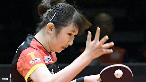 東京が男子の初代王者 女子は日本生命 卓球Tリーグ