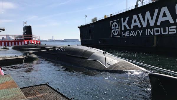 川重が潜水艦引き渡し 輸出が頓挫、技術維持課題に