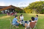 ハワイでのワーケーションを支援する商品を販売する