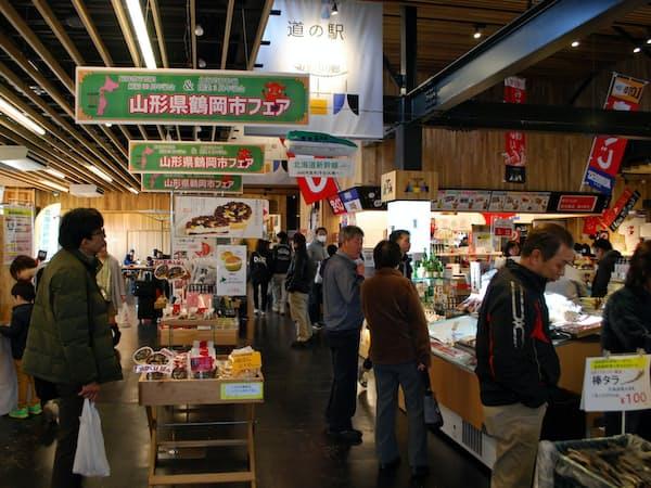 道の駅「みそぎの郷きこない」は毎年50万人が訪れる人気スポットになった(北海道木古内町)