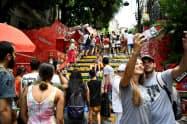 ビザ免除により、ブラジル政府は外国人観光客の増加を見込む(リオデジャネイロ)