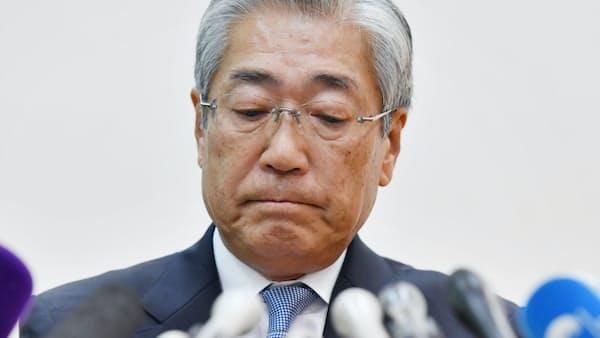 竹田JOC会長が退任表明へ 午後に理事会