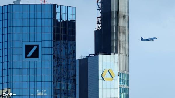 焦る政治 追い詰められたドイツ銀行