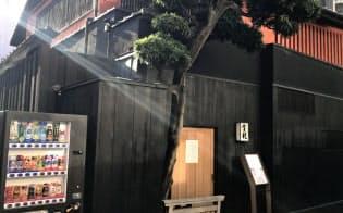 3月末に閉店する赤坂の料亭「金龍」(東京都港区)