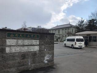 起業を促す仕組みをつくる山形大学(山形県米沢市の工学部キャンパス)